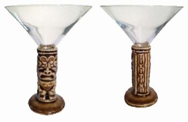 Tikitini Martini Tiki Mug braun