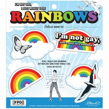 Rainbows Magnet Set