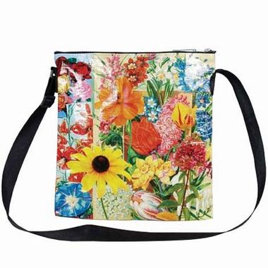 Flower Schultertasche