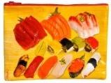 Sushi Zipper Tasche