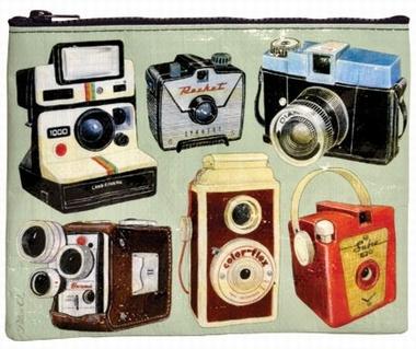 Kameras Zipper Tasche - Fotoapparate