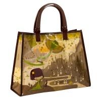 Handtasche - Origami Green