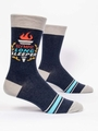 Herrensocken Blue Q - Olympic Long Sleeper
