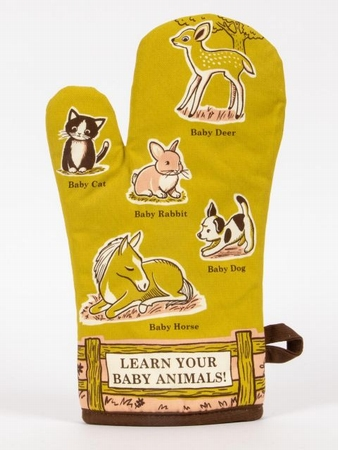 Ofenhandschuh - Learn Your Baby Animals