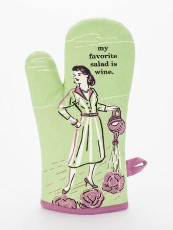 Ofenhandschuh - My Favorite Salad Is Wine