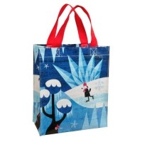 Snow Day Shopper klein - Tragetasche