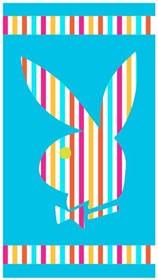 Playboy Duschtuch - Blau