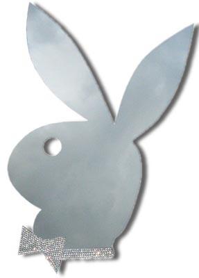 Original Playboy Spiegel mit Strassschleife