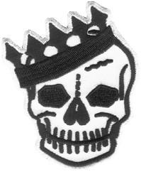 Voodoo Rhythm Skull Crown Patch