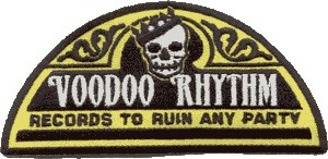 Voodoo Rhythm Label Patch