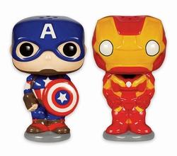 Marvel Pop! Salz- & Pfefferstreuer Avengers