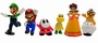 Nintendo Mini Figuren Set - Super Mario