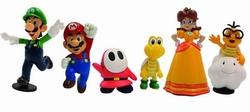 Nintendo Mini Figuren Set - Super Mario