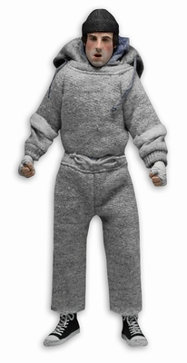 Rocky Puppe Rocky Balboa im Trainingsanzug