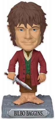 The Hobbit Figur Bilbo Baggins Headknocker