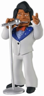 The Simpsons 25th Anniversary Actionfigur James Brown