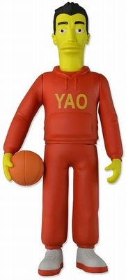 The Simpsons 25th Anniversary Actionfigur Yao Ming
