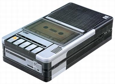 Blechdose Cassette Recorder