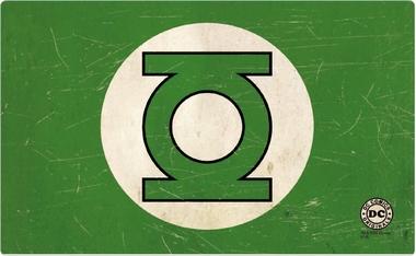Frühstücksbrettchen - Green Lantern - Logo