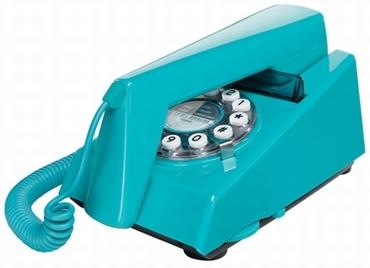 Retrotelefon Trim - Türkis