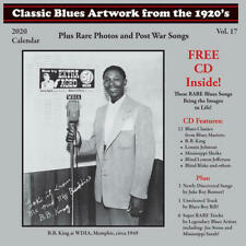 CLASSIC BLUES ARTWORK FROM THE 1920s - 2020 Calendar