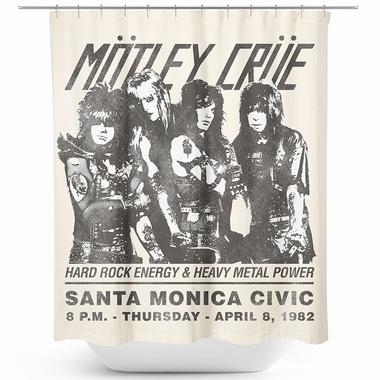Mötley Crüe Duschvorhang