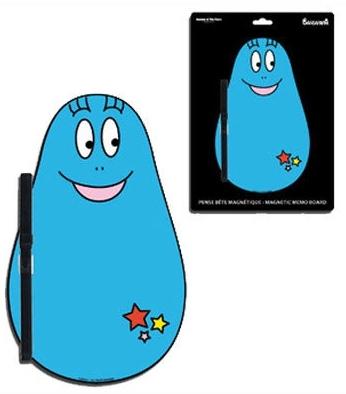 Barbapapa Memoboard - Magnetisch Blau