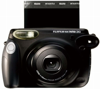 Fujifilm Instax 210 black Instant Kamera