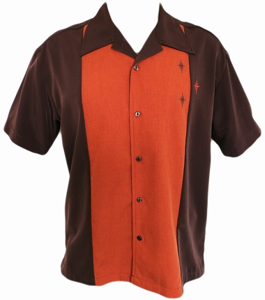 Steady Clothing Bowling Hemd  - Crosshatch Button Up