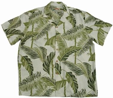 Original Hawaiihemd - Tree Tops Creme - Paradise Found