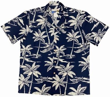 Original Hawaiihemd - Waimea Canoe - Navy - Waimea Casual