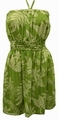 ORIGINAL HAWAIIKLEID - LADIES SUNDRESS - TIARE - OLIVE