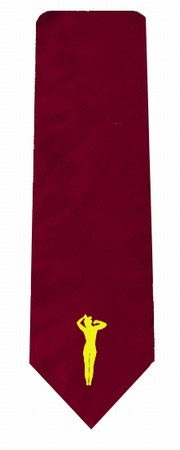 Krawatte Frau - rot