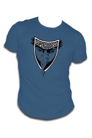 Supergoddess - dunkelblau - shirt