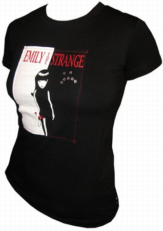 Emily The Strange -  Strange Face Shirt