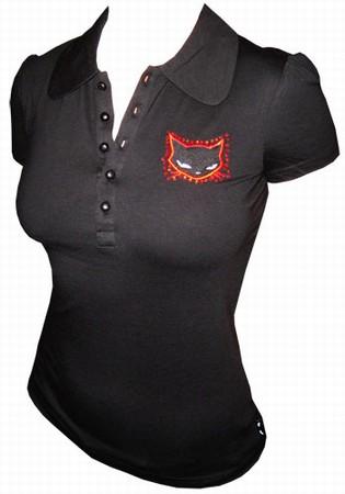 Emily the Strange - Neechee Puff Sleeve Shirt