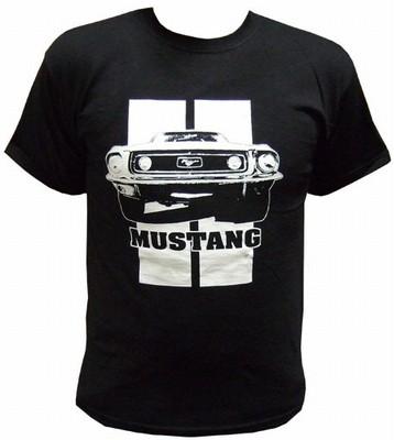 Mustang Shirt Schwarz - Toxico