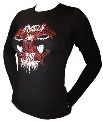Emily The Strange - ESP Death Metal Longsleeve Shirt