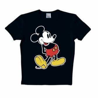 Logoshirt - Mickey Mouse Shirt Classic - Black