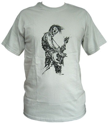 Bassist - Grey - Men Shirt