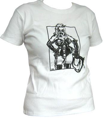 Domina - White - Girl Shirt