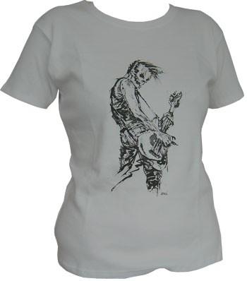 Bassist - Grey - Girl Shirt