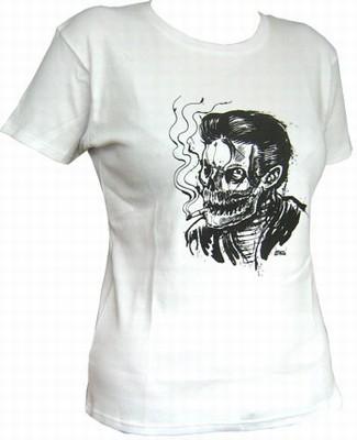 Smoke Kills - White - Girl Shirt