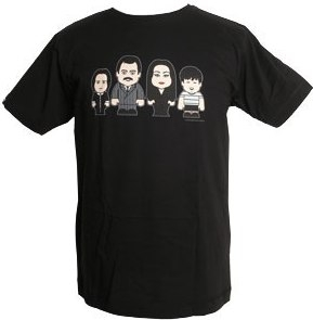 Toonstar - Scary Family - Shirt - black