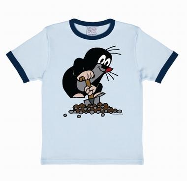 Kids-Shirt - Der kleine Maulwurf - Blau