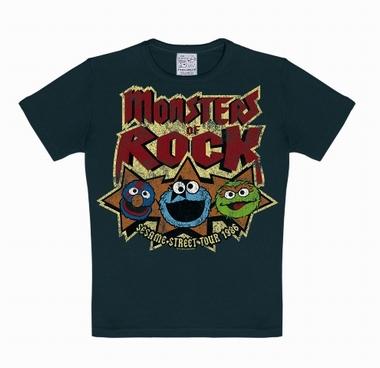 Kids-Shirt - Sesamtrasse - Monsters of rock