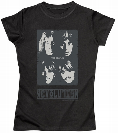 Beatles Girl Shirt - Revolution