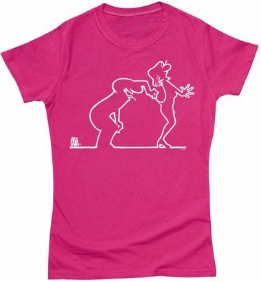 La Linea Girl Shirt - Peekaboo