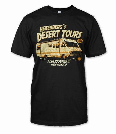 Breaking Bad T-Shirt HEISENBERGS DESERT TOURS
