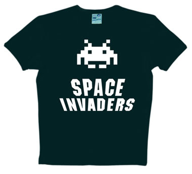 Logoshirt - Space Invaders - Shirt